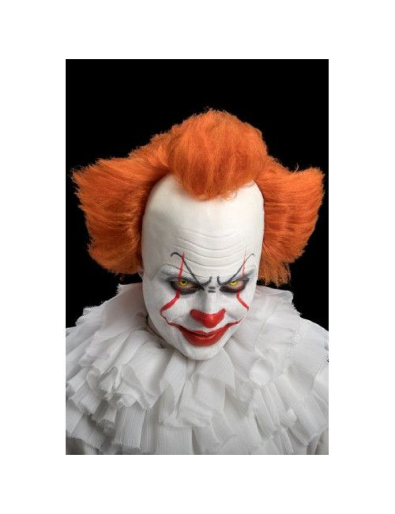 Pennywise IT Clown Latex Headpiece Wig