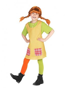 Pippi Longstocking Girls Costume