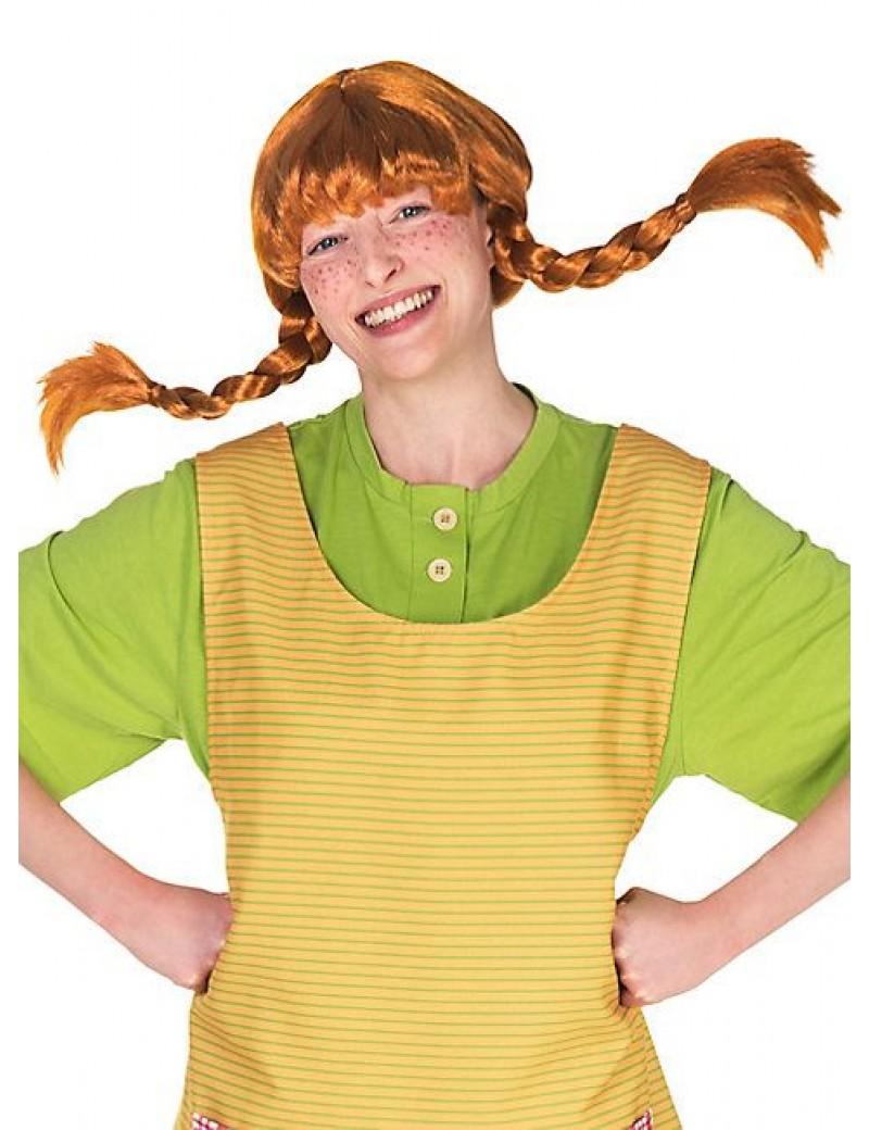 Pippi Longstocking Womans Wig