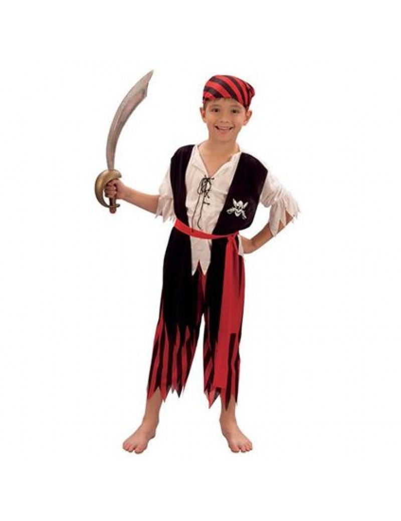 Pirate Jim Child Costume Bristol Novelty CC629 CC630 CC631