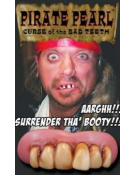 Billy Bob pirate pearl teeth BB-10530