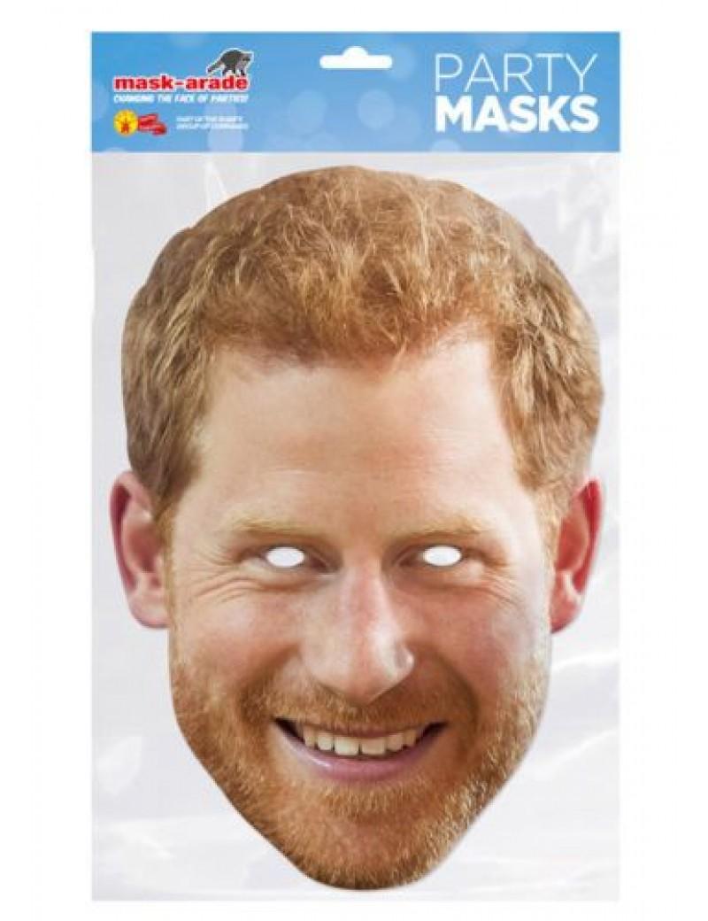 Prince Harry British party adults kids  celebrity  royal Family  celebrity mask Mask-arade