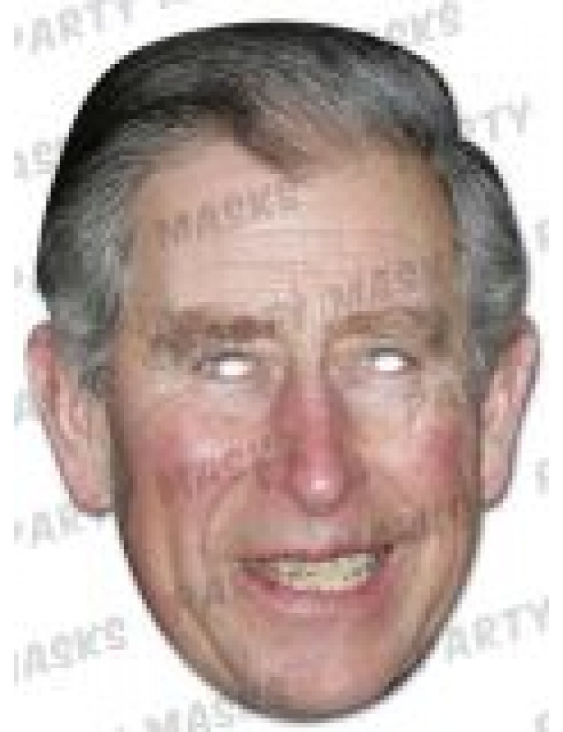 Prince of Wales Charles fancy dress costume party mens boys Royal celebrity mask Mask-arade