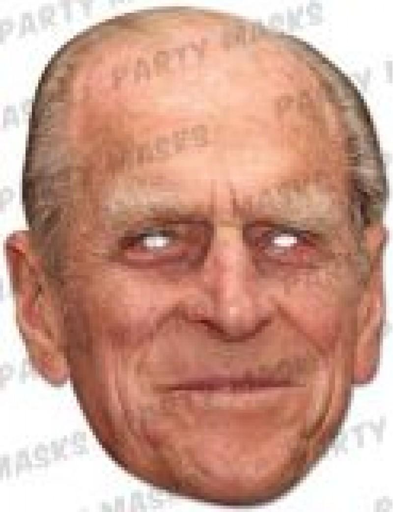 Prince Philip mask Mask-arade