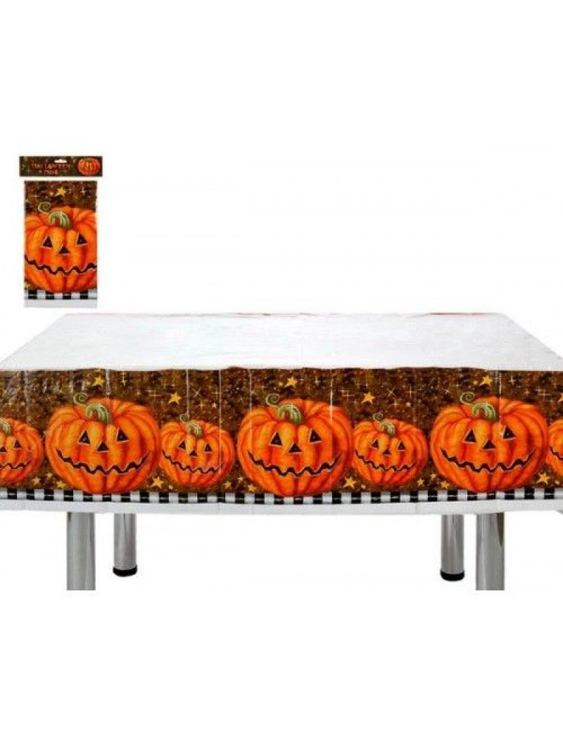 Pumpkin Halloween plastic tablecloth tableware cover Atosa AT-98062