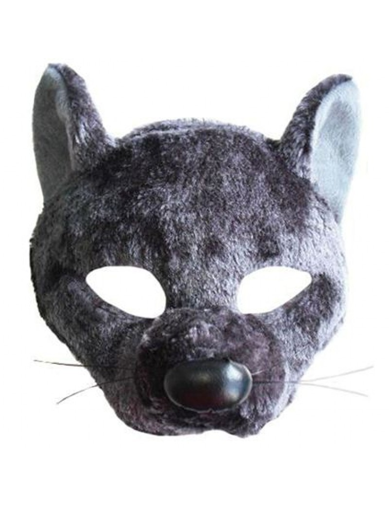 Rat headband fancy dress costume party animal rodent grey mask with sound Bristol Novelty EM454
