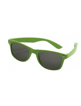 80s Neon Glasses Green