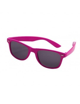 80s Neon Glasses Pink