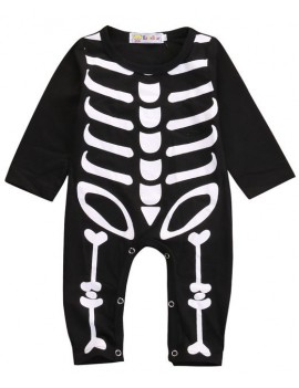 Romper skeleton boys girls newborn baby toddler fancy dress Halloween costume