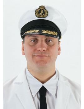 Sailor captains nautical mens peaked Cap Hat Palmer Agencies 5681E