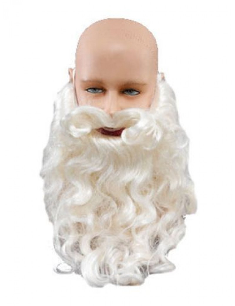 Santa Claus White Beard Deluxe Bristol Novelty MB081
