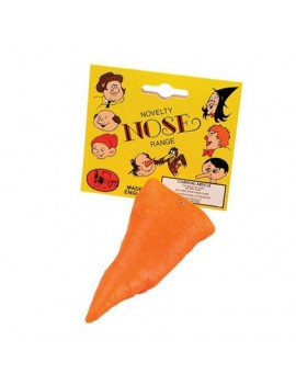 Scarecrow snowman Frozen OLAF rubber carrot fancy dress costume party nose Bristol Novelty MD062