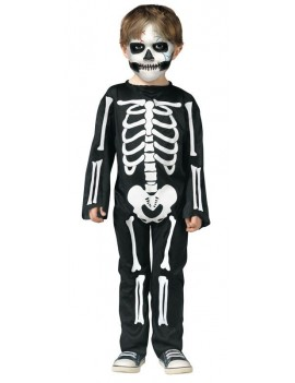 Scary skeleton costume 3 - 4 years Palmer Agencies 3546