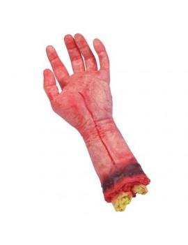 Severed hand wrist  party decoration Halloween prop limb Bristol Novelty GJ019