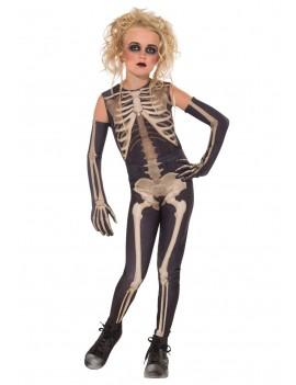 Skeleton Skelee girls costume Rubies 881377