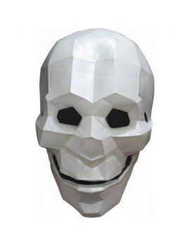 Skull full face rubber fancy dress costume Halloween party accessory Ghoulish Productions GH-26582