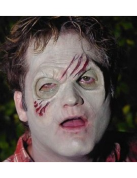 Special Fx zombie half face forehead latex application professional theatrical Halloween FA-171