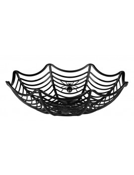 Spiderweb candy sweets trick or treat basket fancy dress Halloween costume party Boland 5860W