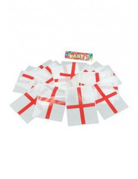 St Georges English plastic flag  bunting room hall party decoration Bristol Novelty PG022