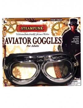 Steampunk aviator Jedi Rey goggles 1940s  mens accessory Forum  Bristol Novelty BA1707