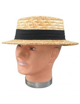 Straw Boater Hat Bristol Novelty BH126