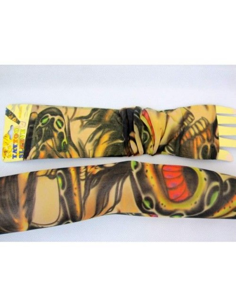 Tattoo sleeves skulls and snakes T2204 29714