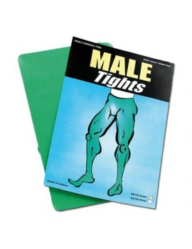 Tights Green Mens Bristol Novelty BA735