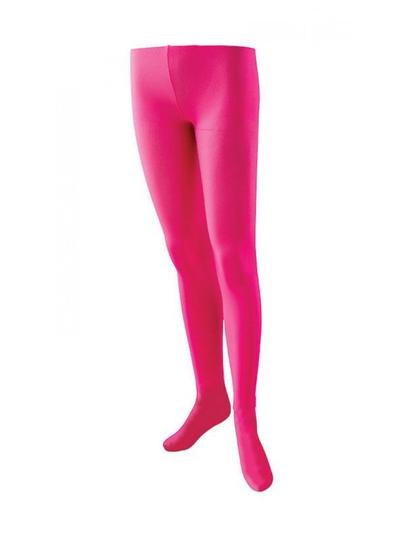 Tights neon pink Bristol Novelty BA618