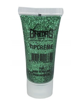 Tip Creme cream Grimas professional theatrical glitter make up face paint gel 041 Green