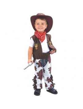 Toddler cowboy boys wild west fancy dress party costume Bristol Novelty CC016
