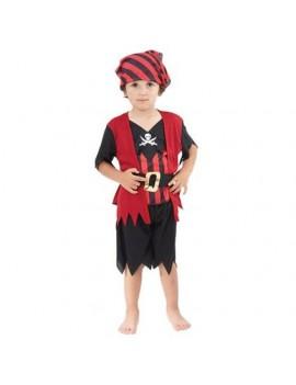 Toddler pirate bucaneer boy fancy dress book day beach party costume Bristol Novelty CC019