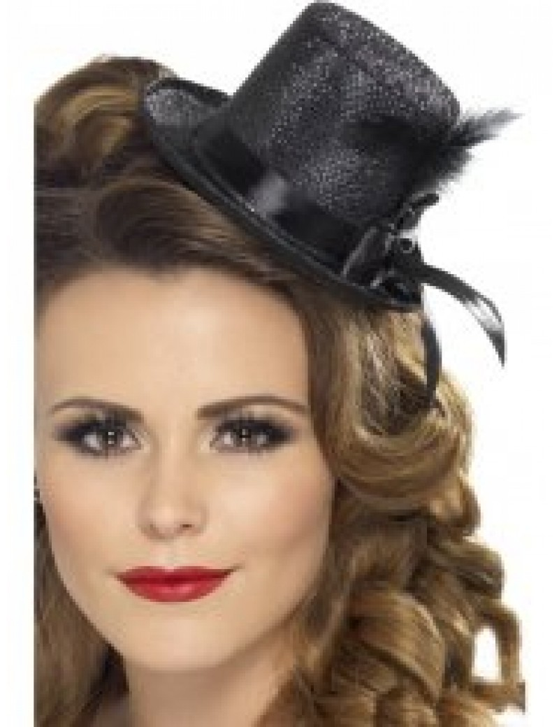 Mini Top Hat Black Smiffys 28447