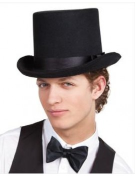 Top Hat Woolfelt Black Palmer Agencies 5750