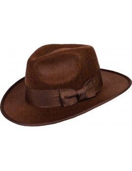 Trilby Adventurer Fedora Brown Hat
