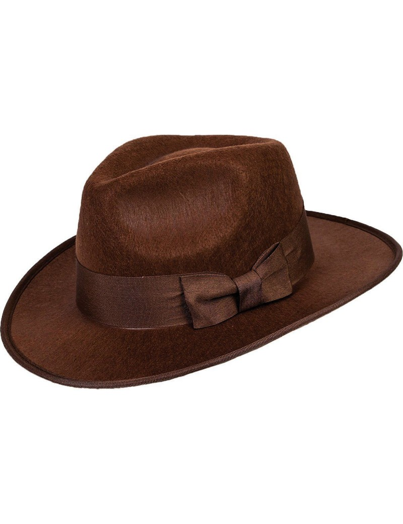 Trilby Adventurer Fedora Brown Hat