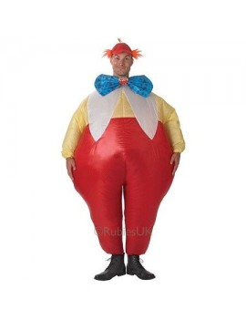 Tweedle Dee Dum inflatable adults fancy dress party costume Alice in Wonderland party Rubies 888840