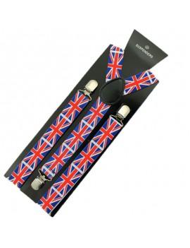 Union Jack mens Braces royal British proms Party 31547