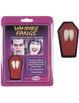 Vampire fang caps Palmers Fun World 4935