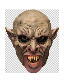 Vampire full over head latex chin strap Halloween mask Ghoulish Productions GH-27522