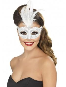 Silver eye mask Smiffys 24571