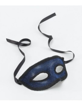 Eyemask Ribbon Tie Blue Bristol Novelty EM032