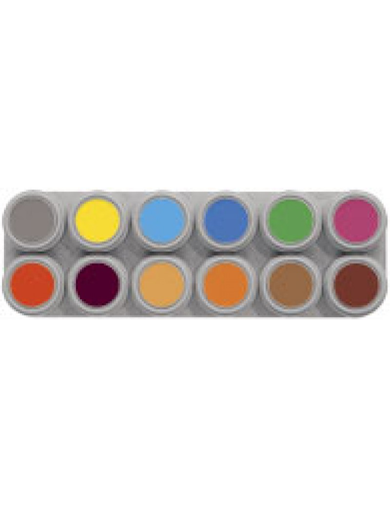 12 Colour Water Make Up Palette B