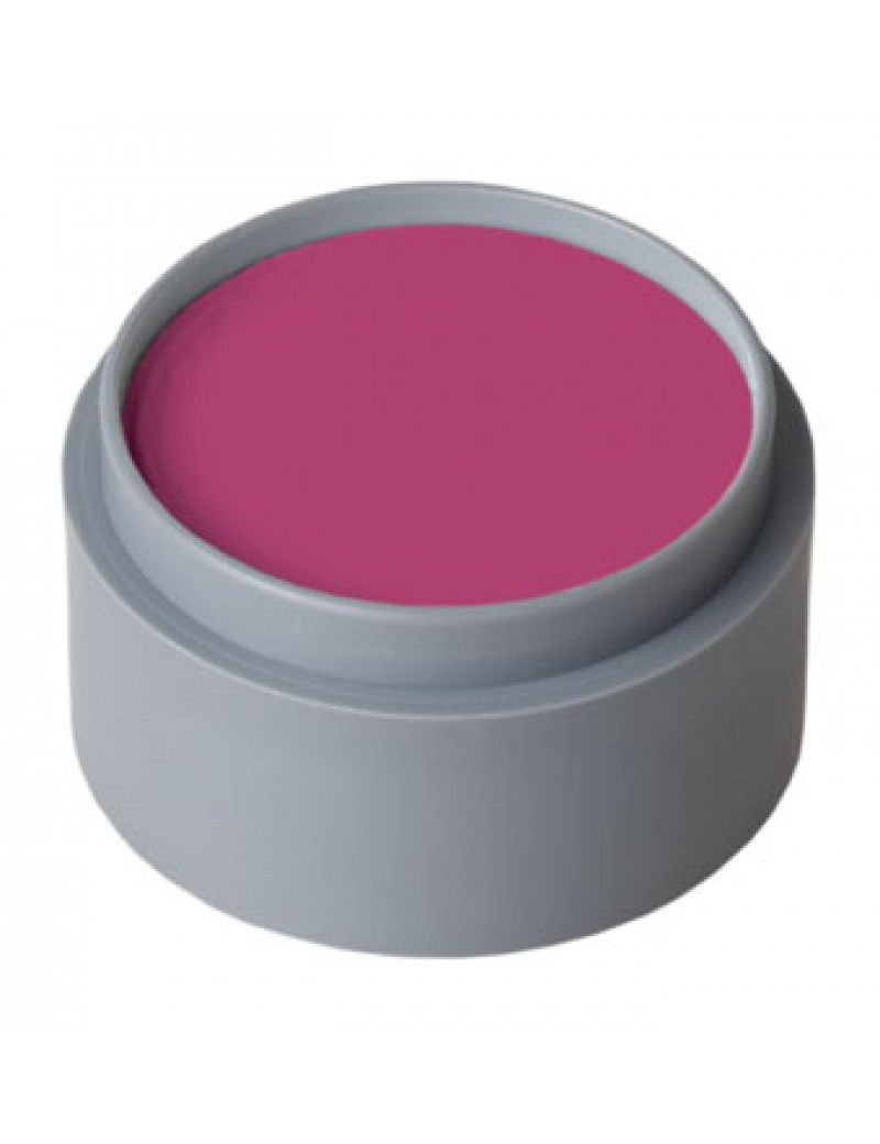 Water make up Grimas professional theatrical stage face paint 15ml 508 dark pink