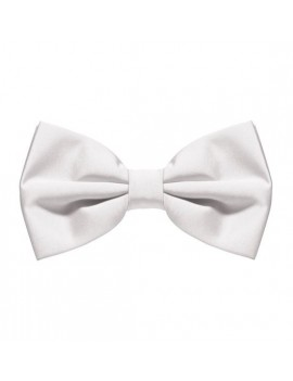 White bow tie deluxe theatrical menswear accessory Stylex Party ST2144