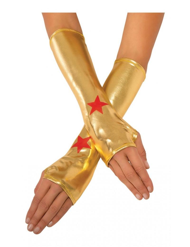 Wonder Woman Gold Gauntlets