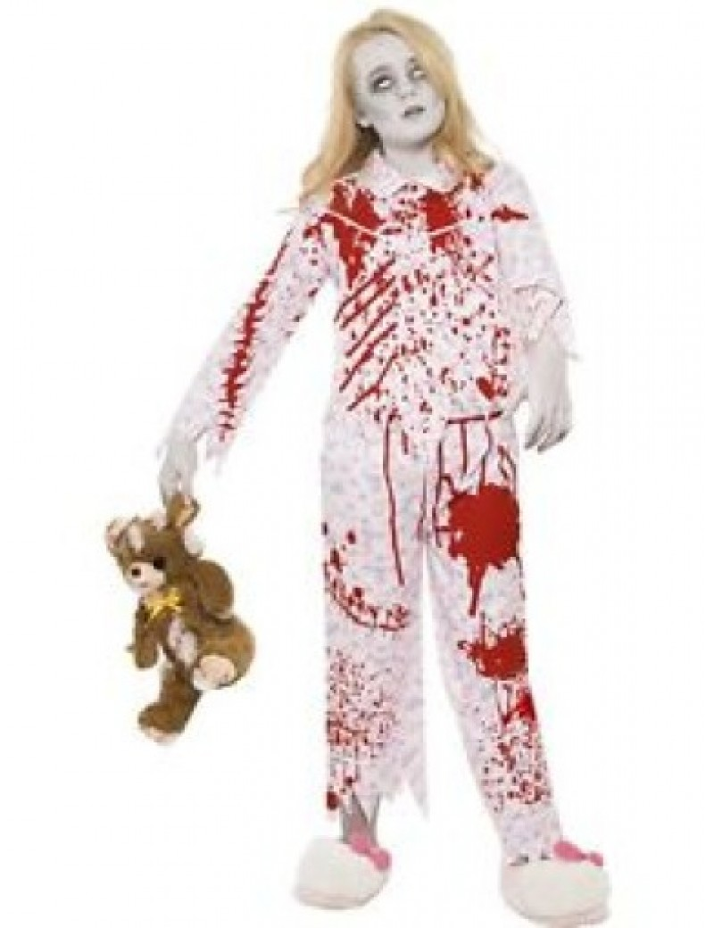 Zombie pyjama girl costume Smiffys 24379