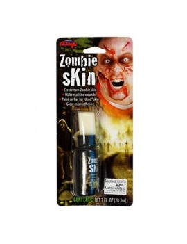 Zombie skin liquid latex Halloween SFX fancy dress costume party Palmer Agencies 2910