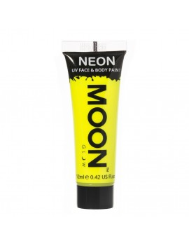 Moon Glow neon UV face and body intense paint yellow M5