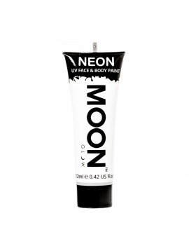 Moon Glow neon UV face and body intense paint white M5