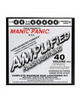 Manic Panic Amplified Flash Lightning Bleaching Kit Cream Developer Vol 40